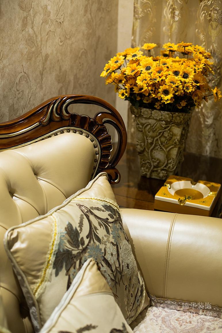 梁溪原筑101平欧式风格实景图装修-三室两厅-简欧