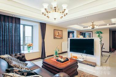 简欧风格-太湖国际-四室两厅-240平-装修实景效果图