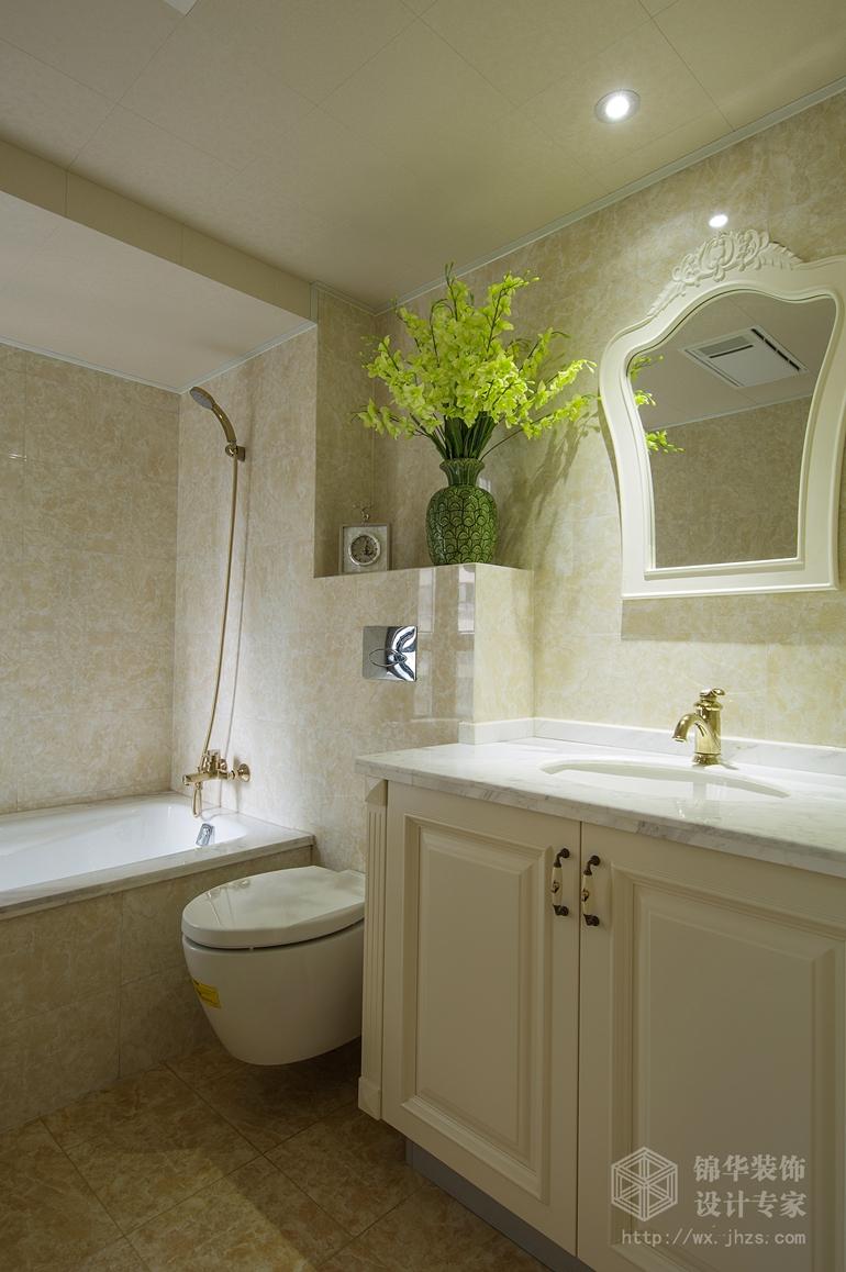 韵佳苑140平现代美式风格实景样板间装修 三室两厅 美式田园 无锡锦