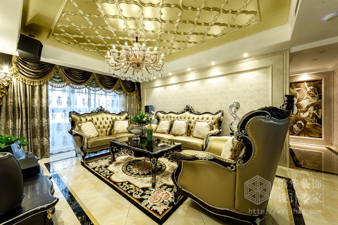 和风家园150平欧式新古典风格实景样板间