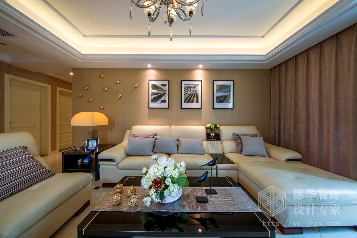 现代简约-古运五爱苑-三室两厅-123平-装修实景效果图
