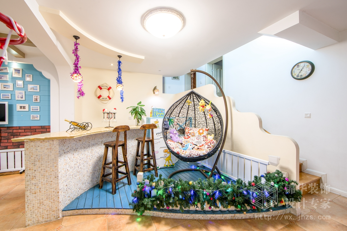 聚江苑150平四室两厅两卫地中海风格实景图