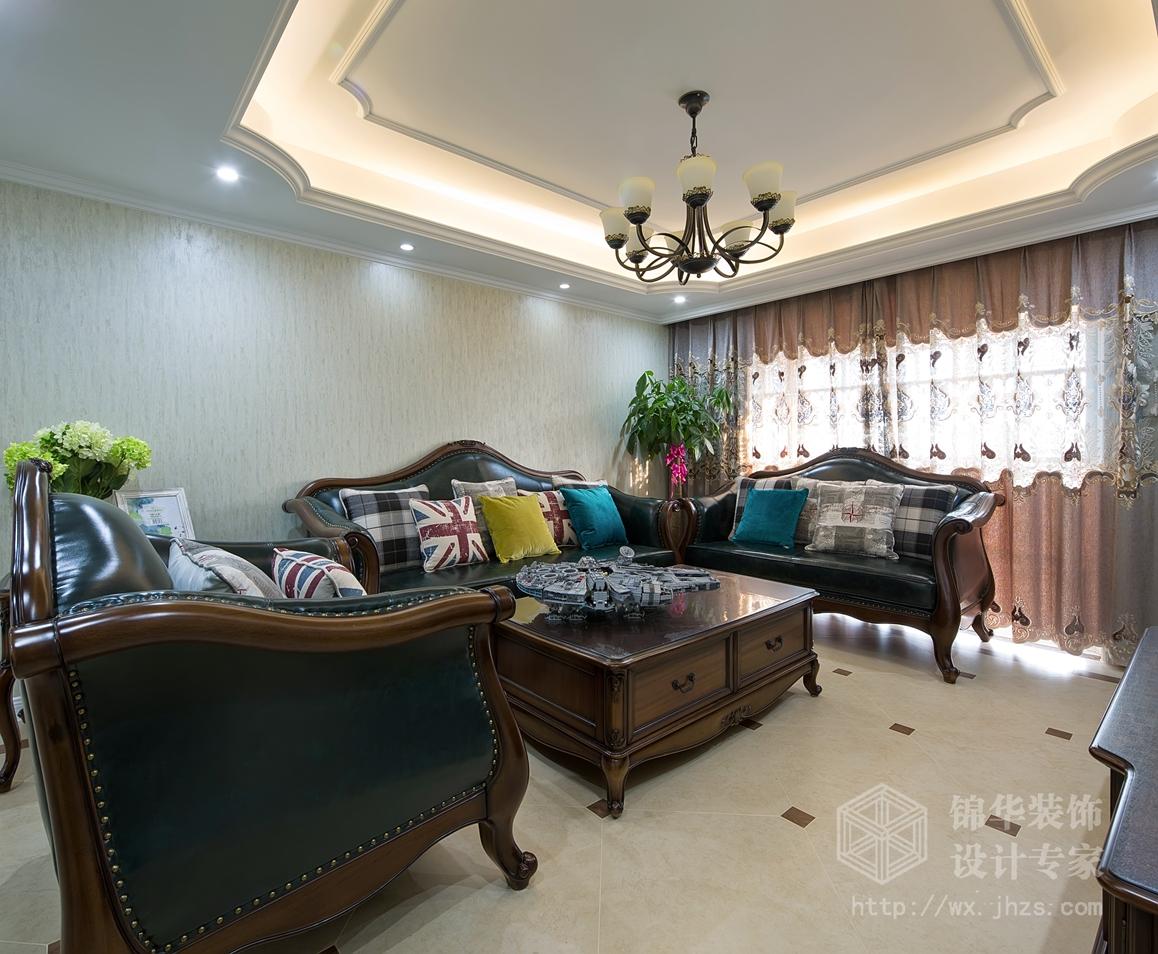 尚锦城132平三室两厅两卫小美风格实景图