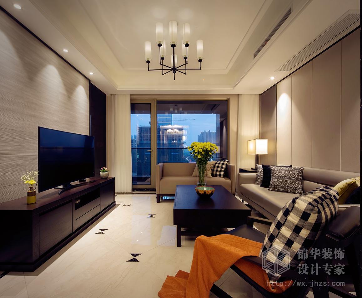玉兰花园143平三室两厅两卫现代简约风格实景图