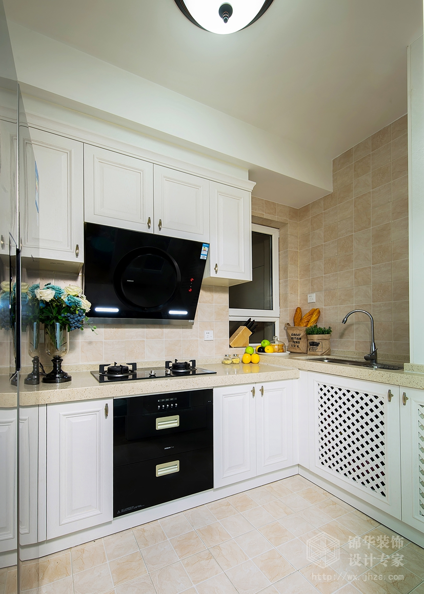 朗诗太湖绿郡103平简美风格实景样板间装修-两室两厅-简美
