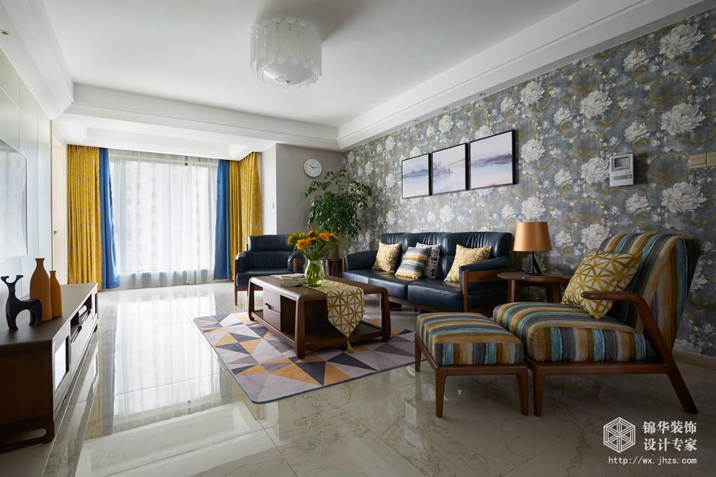 蠡湖一号170平四室两厅两卫现代风格实景图