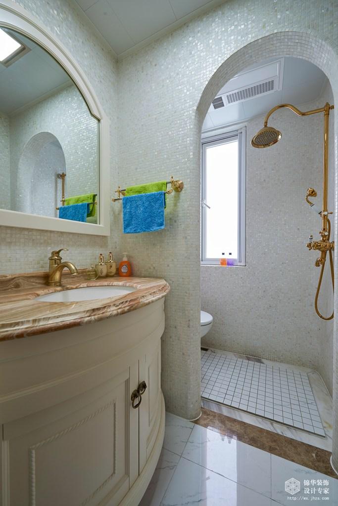 阳光城市花园160平四室两厅两卫美式实景图装修-四室两厅-简美
