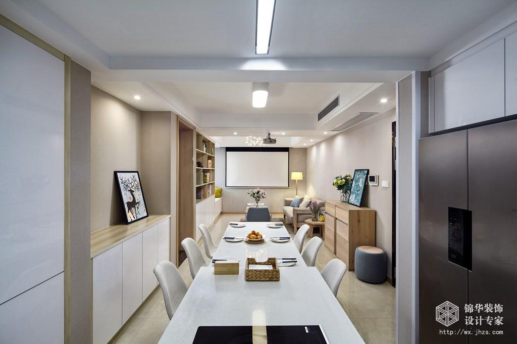 尚锦城106平两室两厅一卫日式MUJI风格实景样板间