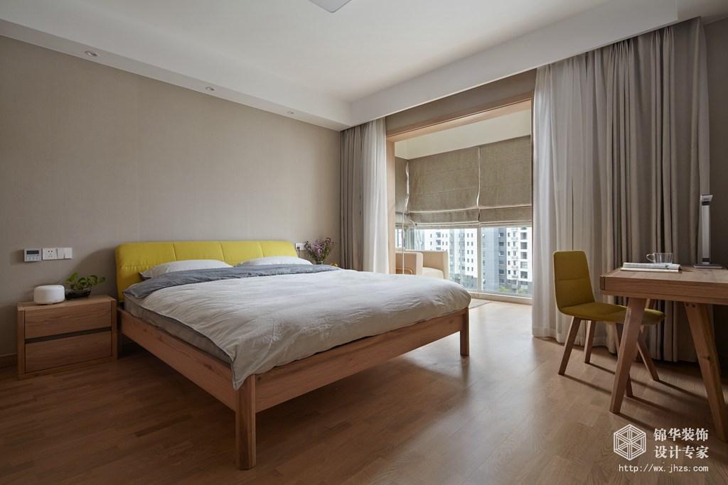 尚锦城106平两室两厅一卫日式MUJI风格实景样板间装修-两室两厅-日式