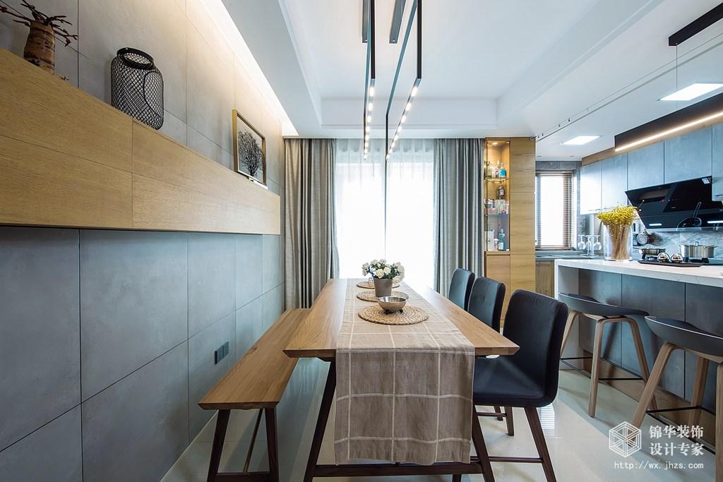 现代港式风格-太湖国际-四室两厅-155平-装修实景效果图