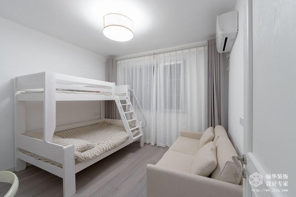 中海鳳凰熙岸128平三室兩廳兩衛北歐風格實景圖裝修-三室兩廳-北歐