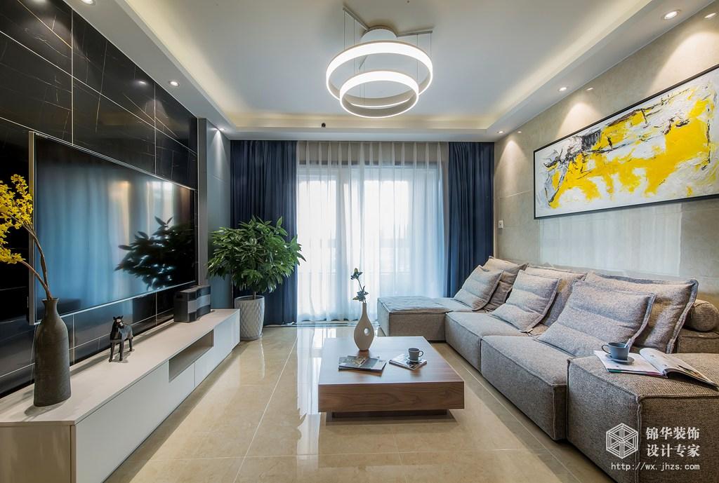 朗诗太湖绿郡155平四室两厅两卫现代港式风格实景样板间