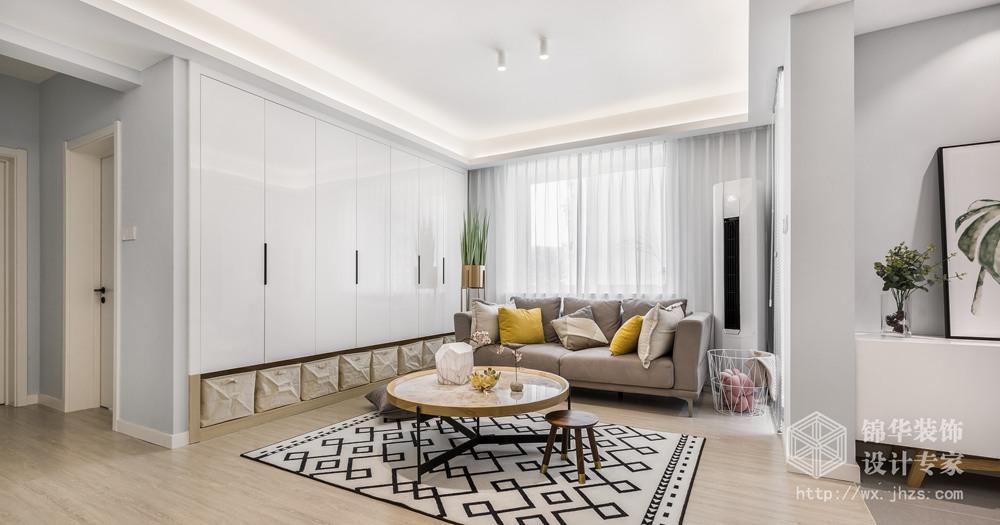 北欧风格-五河苑-三室两厅-89平-装修效果实景图装修-三室两厅-北欧