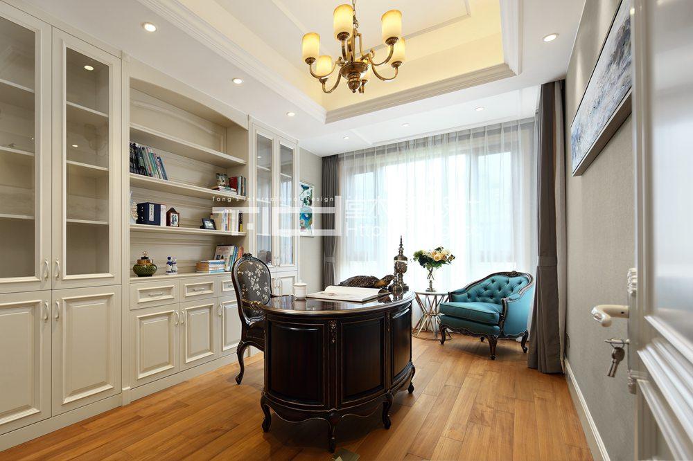 万象九里380平美式风格实景图装修-别墅-简约美式