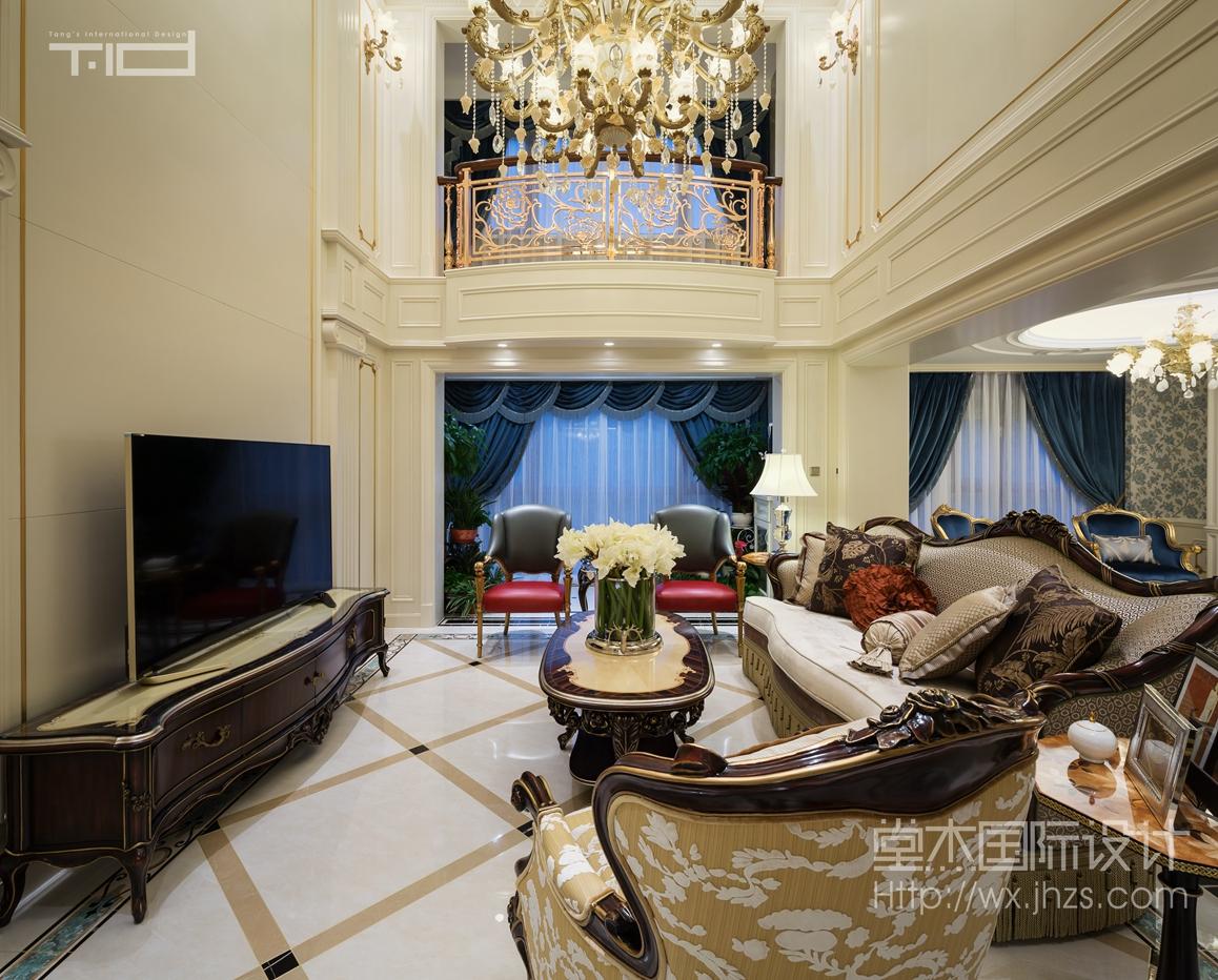 保利香槟国际260平法式新古典风格视频拍摄
