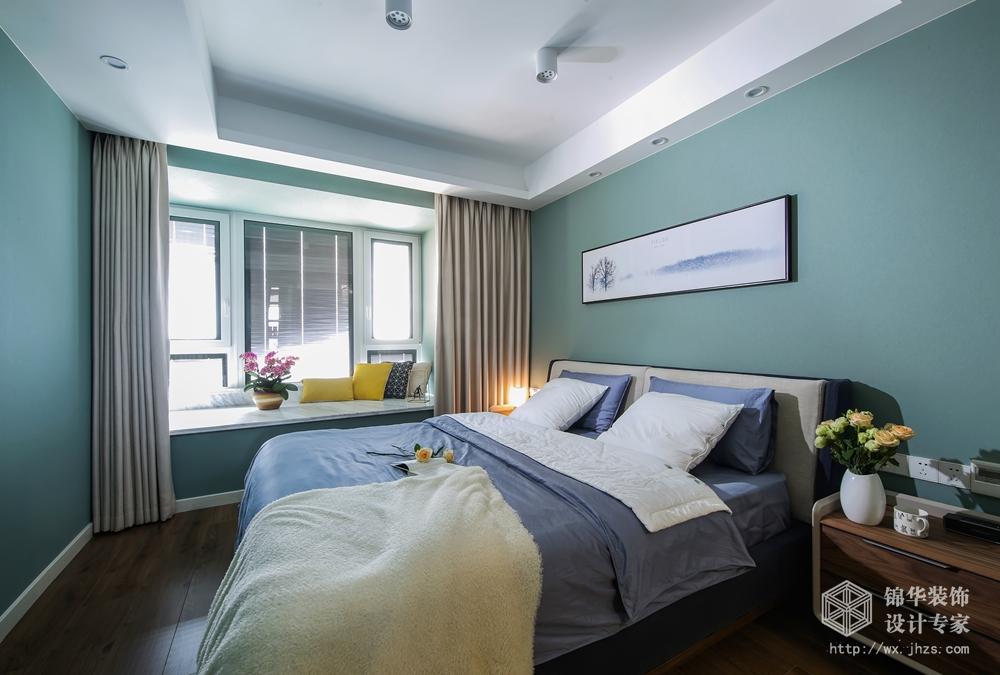 繁华里90平北欧风格实景图装修-三室两厅-北欧
