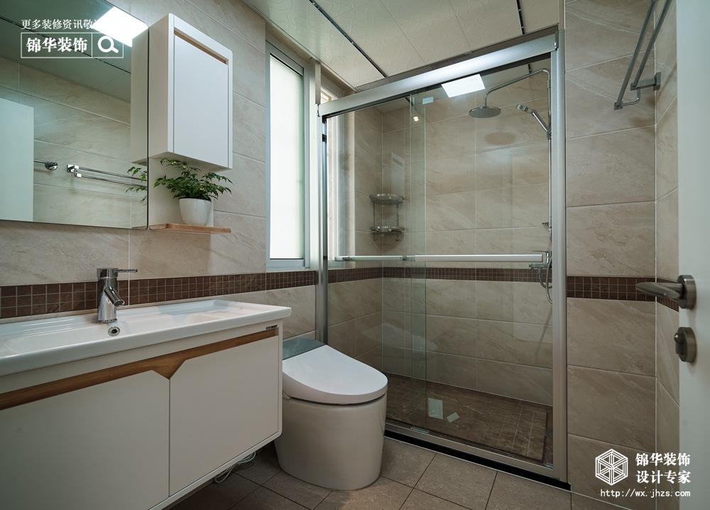 北欧风格-古运五爱苑-三室两厅-124平-装修实景效果图装修-三室两厅-北欧