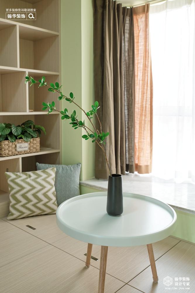 北欧风格-古运五爱苑-三室两厅-124平-卧室-装修实景效果图