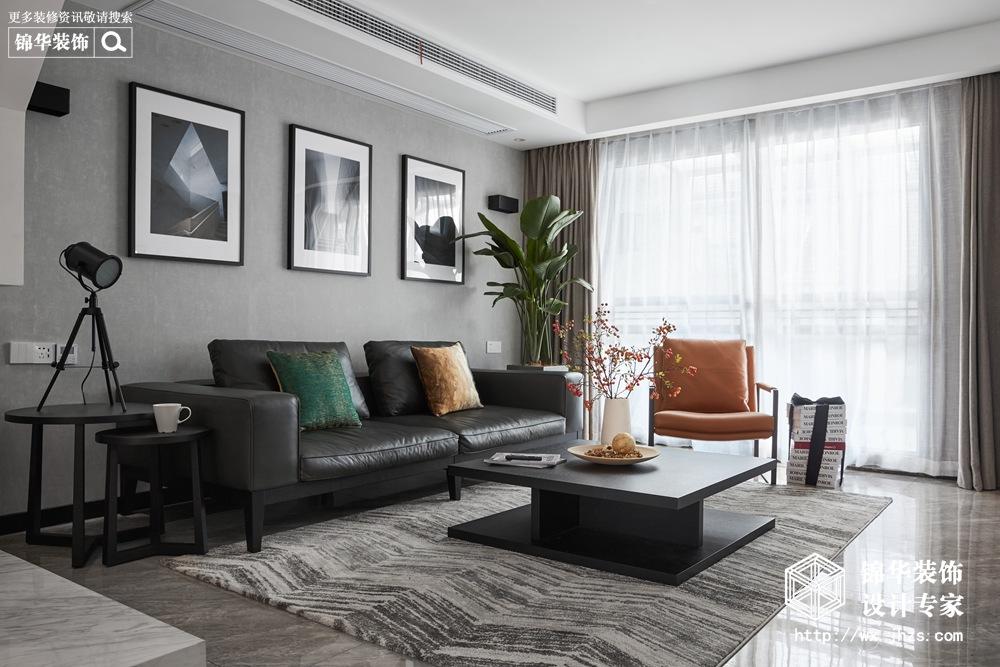极简主义风格-万科魅力-四室两厅-200平-装修实景效果图