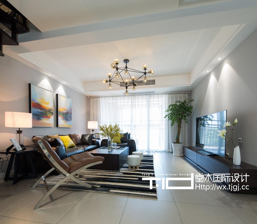 北欧风格-康诗丹郡-四室两厅-126平-装修实景效果图
