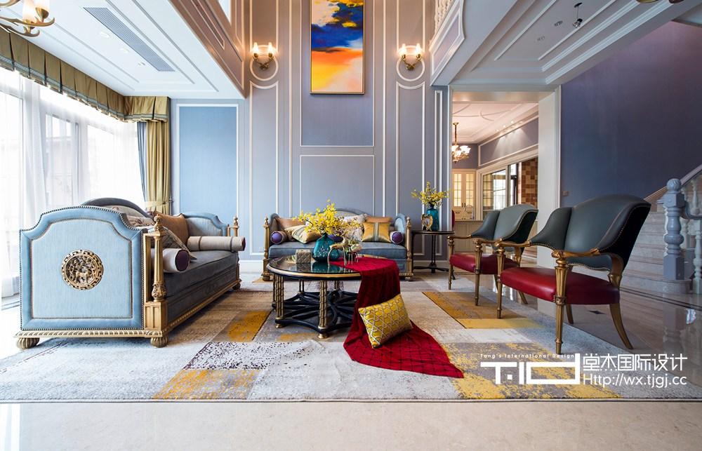 马山御园600平美式风格实景图