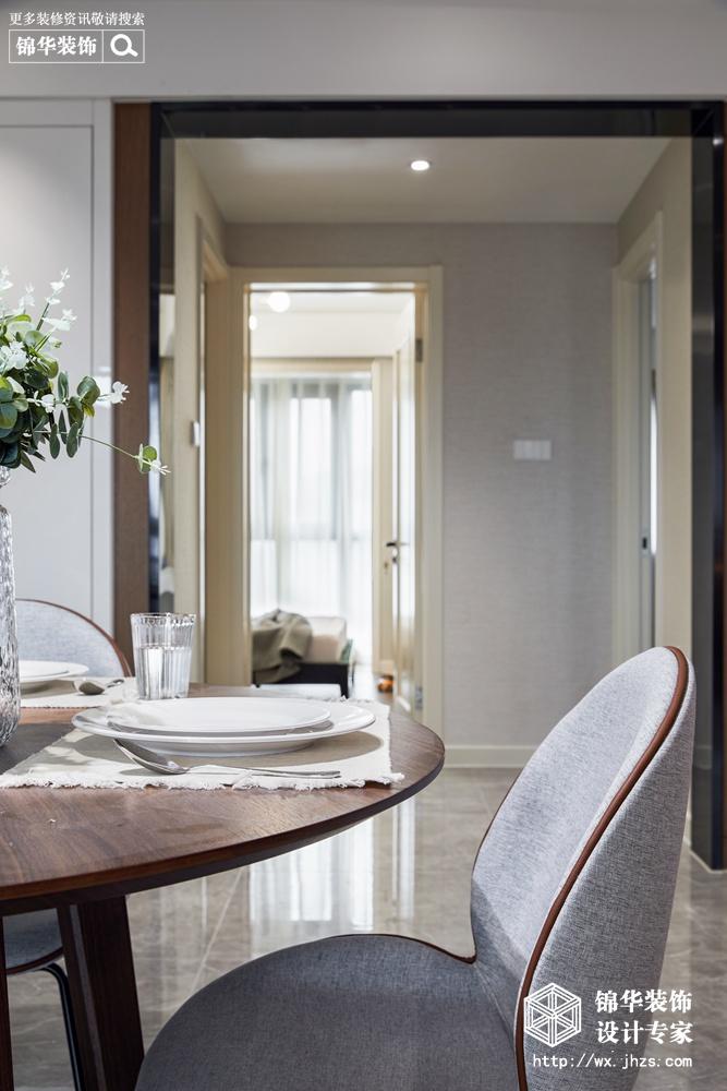 现代风格-东城中央府-三室两厅-160平-装修实景效果图装修-三室两厅-现代简约