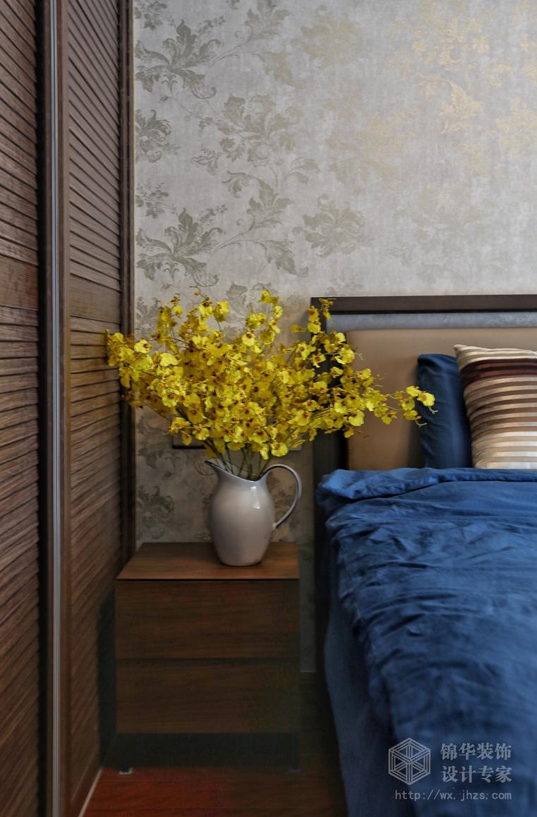 擎天半岛新中式风格实景图装修-两室两厅-新中式图片