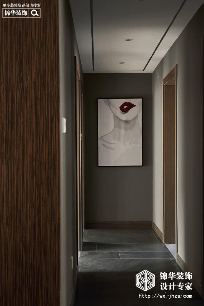 现代风格-洛社橙园-三室两厅-143平-装修效果实景图装修-三室两厅-现代简约