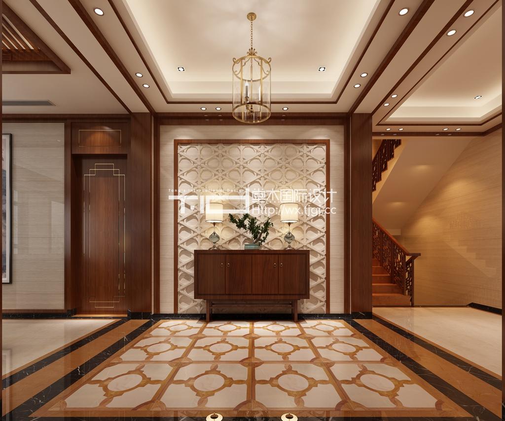 满堂院460平新中式风格