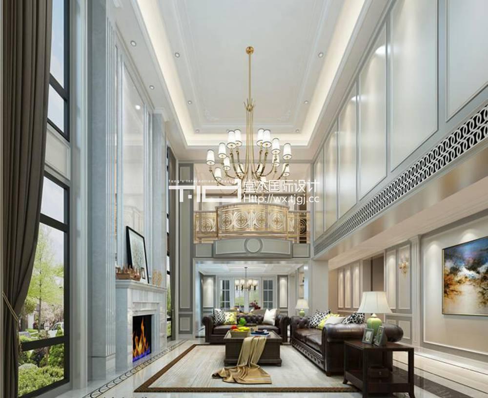 吉宝澜岸观邸-450平美式风格