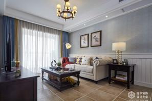 简美-红豆香江豪庭-两室两厅-89平-改造实景效果图