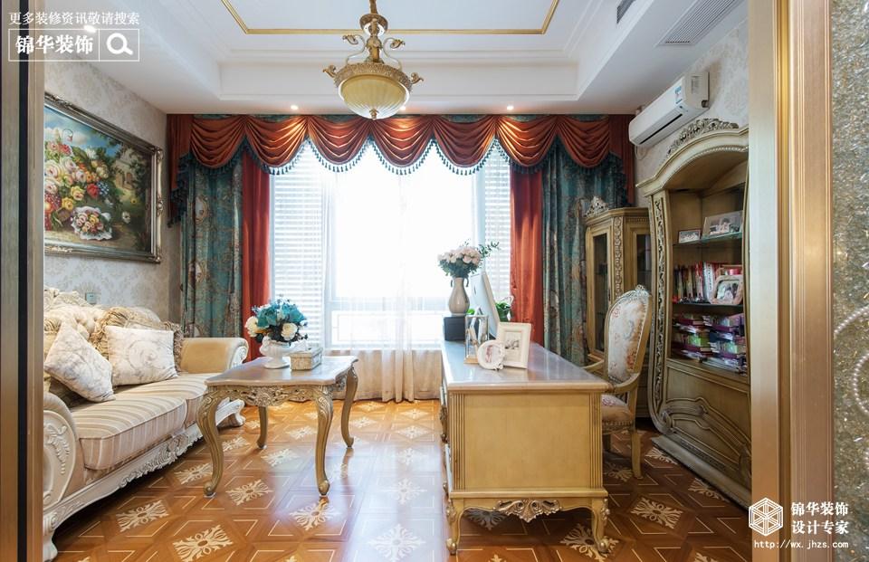 中堂院墅360平法式古典风格实景图装修-别墅-欧式古典