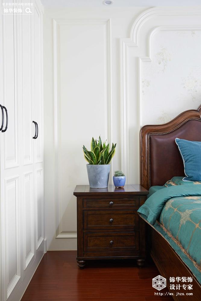 万科酩悦140平美式风格实景图装修-四室两厅-简美