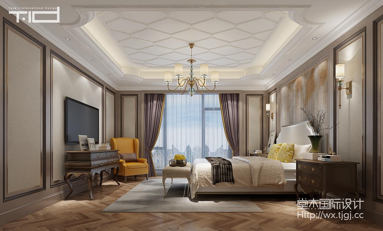 天一城596平欧式风格效果图装修-别墅-欧式古典