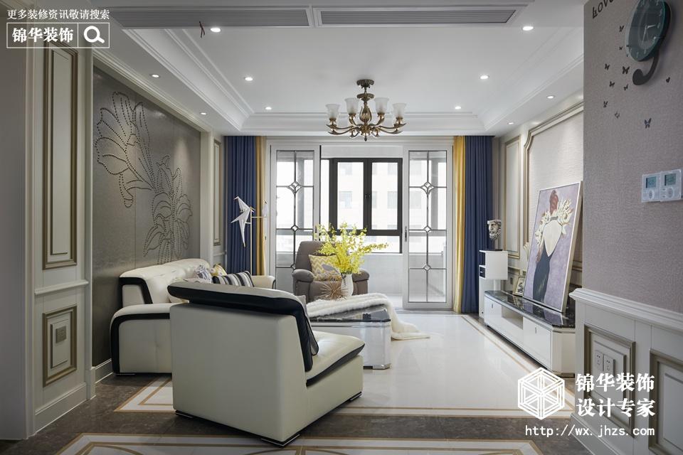 星海公馆140平现代法式风格实景图