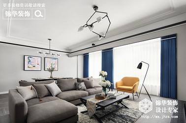 现代风格-lols10外围平台珑玺-三室两厅-140平-装修实景效果图