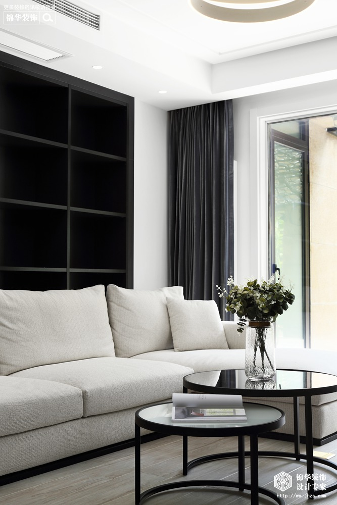 玉兰花园170平现代风格实景图装修-四室两厅-现代简约