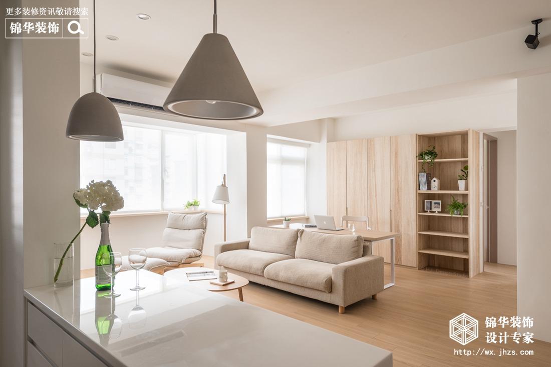 北欧盐系风格-玉兰花园-四室两厅-173平-装修实景效果图装修-四室两厅-北欧