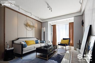 中式风格-孔雀城-三室两厅-110平-装修效果实景图