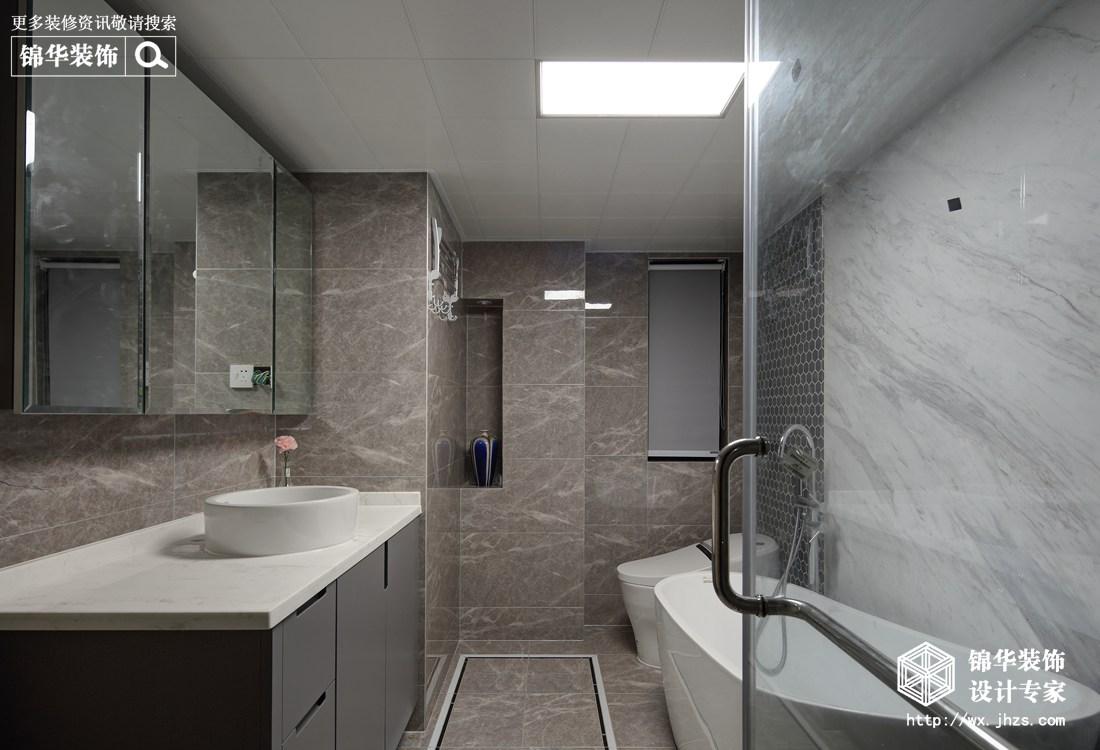 中式风格-孔雀城-三室两厅-110平-装修效果实景图装修-三室两厅-现代简约