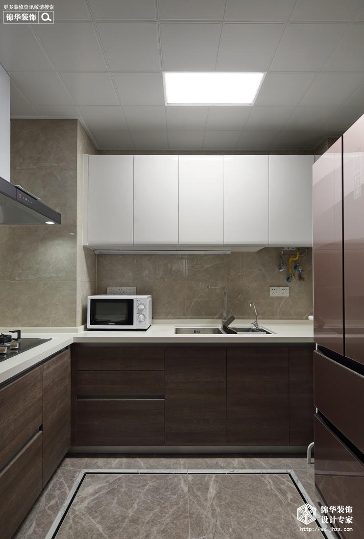 中式风格-孔雀城-三室两厅-110平-厨房-装修效果实景图
