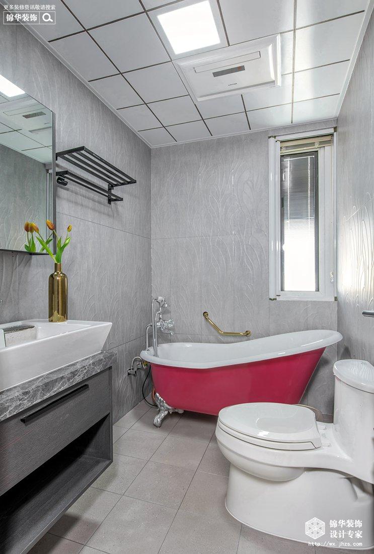 时代上城繁华里137平现代简约风格实景图装修-三室两厅-现代简约