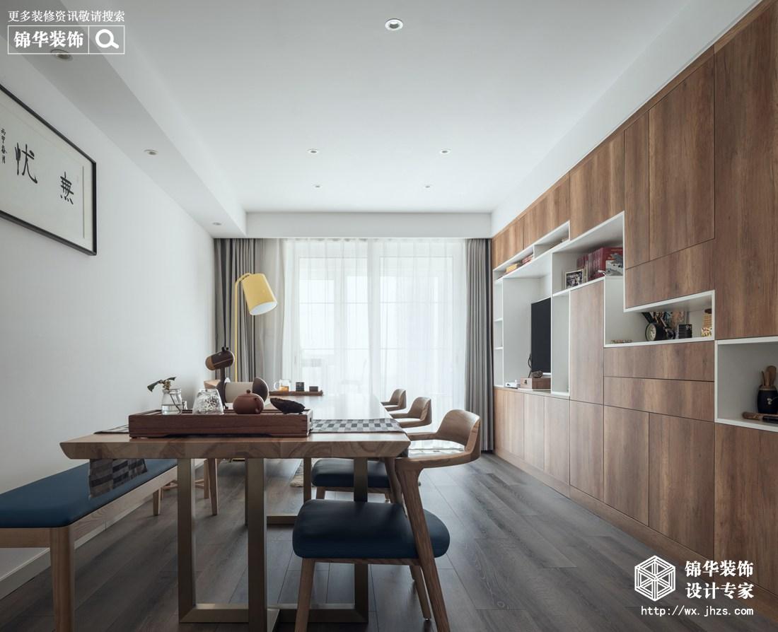 极简风格-溪岸景园-四室两厅-105平-装修实景效果图