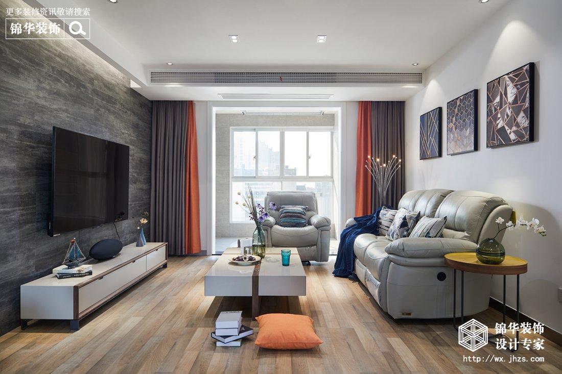 现代风格-孔雀雅园-四室两厅-142平-装修效果实景图