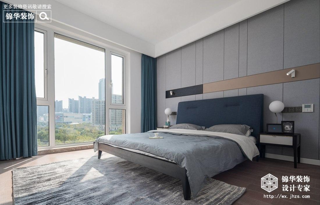 现代简约-玉兰花园-三室两厅-170平-装修实景效果图装修-三室两厅-现代简约