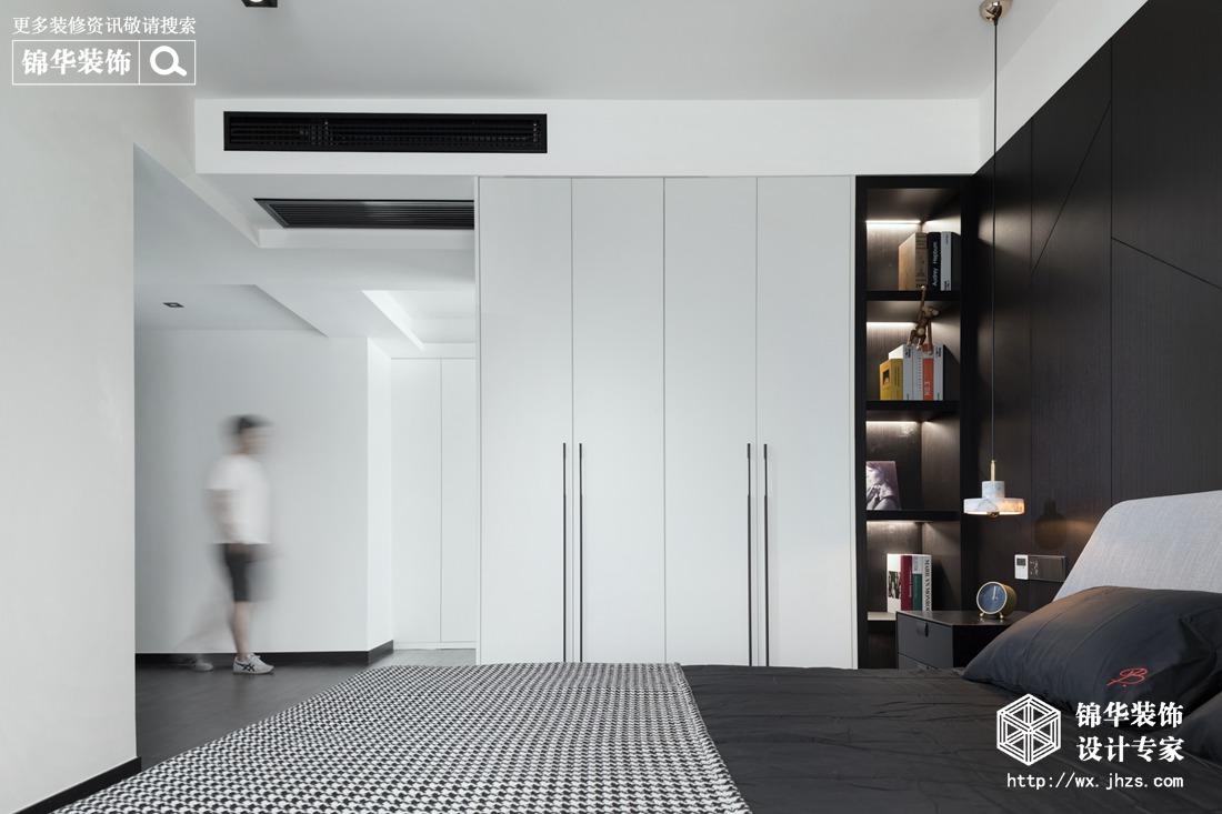 现代简约-百乐广场-三室两厅-140平-装修实景效果图装修-三室两厅-现代简约
