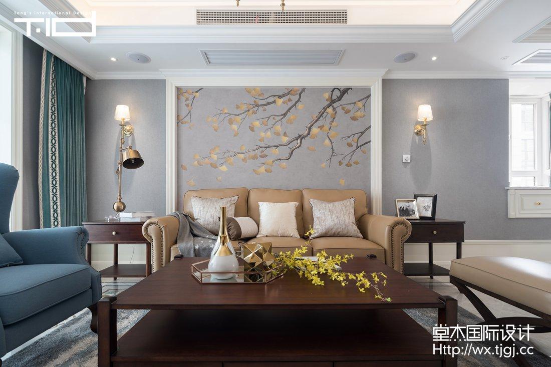 天元世家220平美式风格实景图
