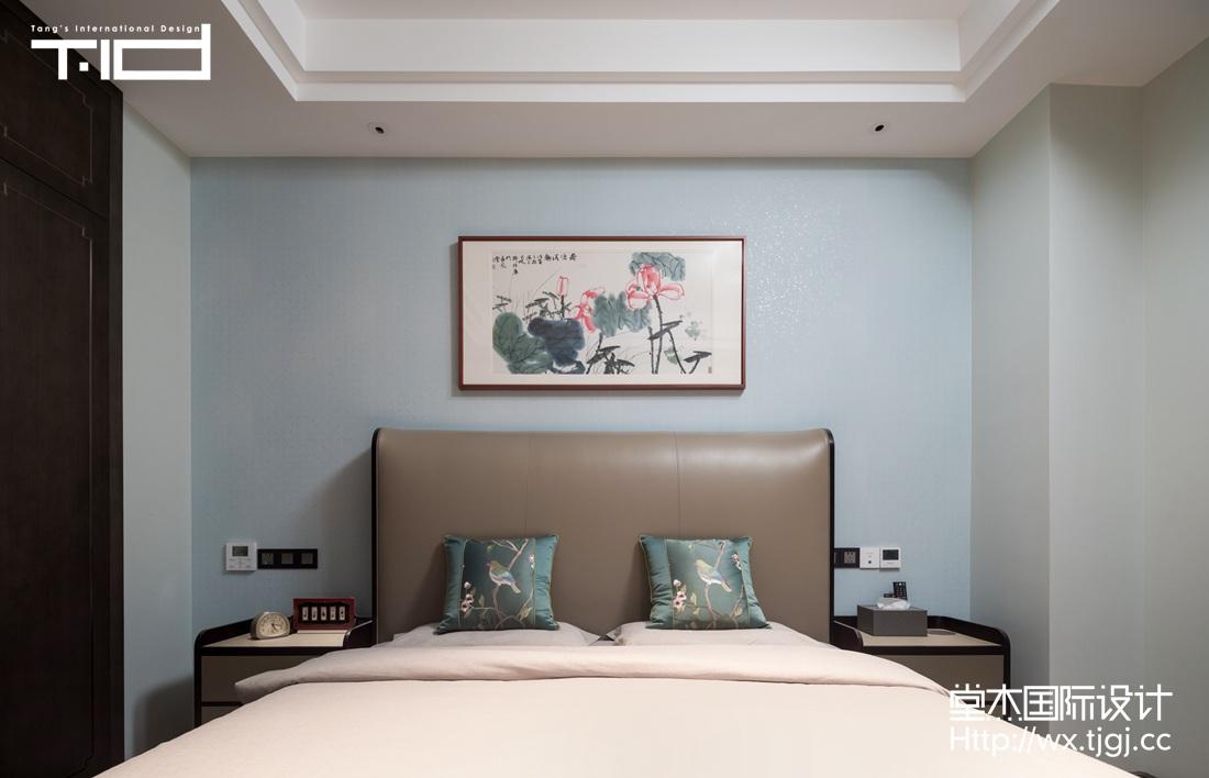新中式-香樟园-大户型-280平-装修实景效果图装修-大户型-新中式