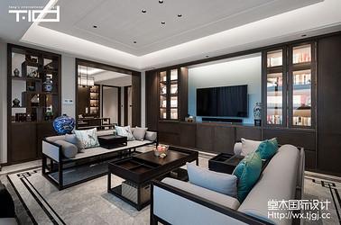 新中式-香樟园-大户型-280平-装修实景效果图