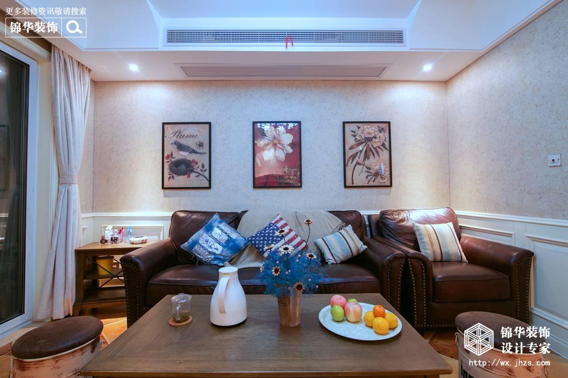 金科米兰90平美式风格实景图